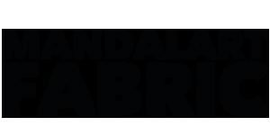 Mandala Art Fabric